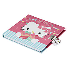 Buy Hello Kitty Tea Party Lockable Journal, Pink Online at johnlewis.com