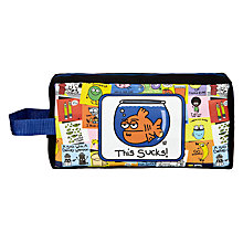 Buy Stupid Factory Pencil Case, Multi Online at johnlewis.com