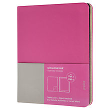 Buy Moleskin iPad Cover, Green Online at johnlewis.com