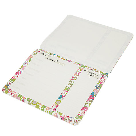Buy Caroline Gardner Weekly Planner, Multi Online at johnlewis.com