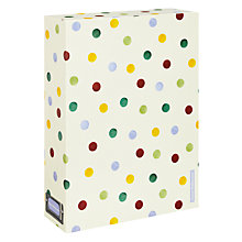 Buy Emma Bridgewater A4 Polka Dot Storage Box, Multi Online at johnlewis.com