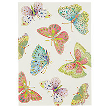 Buy Caspari Butterflies Notecards, Multi, Pack of 8 Online at johnlewis.com