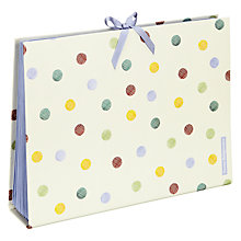 Buy Emma Bridgewater Polka Dot Print Expander File, Multi Online at johnlewis.com