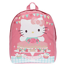 Buy Hello Kitty Tea Party Backpack, Pink Online at johnlewis.com