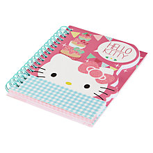 Buy Hello Kitty Tea Party A6 Die Cut Notebook, Multi Online at johnlewis.com
