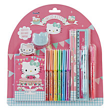 Buy Hello Kitty Tea Party Super Stationery Set, Multi Online at johnlewis.com