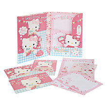 Buy Hello Kitty Tea Party Writing Set, Multi Online at johnlewis.com