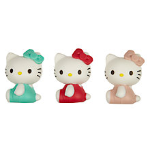 Buy Hello Kitty Tea Party 3D Eraser Set, Multi, Pack Of 3 Online at johnlewis.com