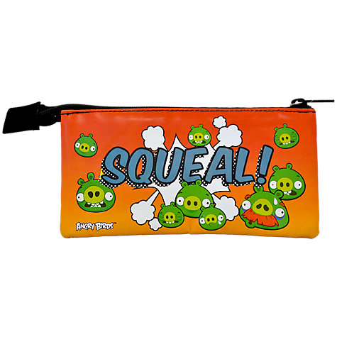 Buy Angry Bird 3 Pocket Pencil Case, Multi Online at johnlewis.com
