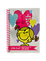 Mr Men Little Miss A5 Notebook, Multi