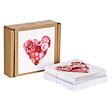 Buy Heart Notecards, Set Of 16 Online at johnlewis.com