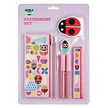 Buy Give A Hoot Stationery Set, Multi Online at johnlewis.com
