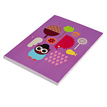 Buy Give A Hoot A6 Notebook Online at johnlewis.com