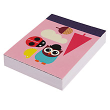 Buy Give A Hoot Mini Notepad Online at johnlewis.com