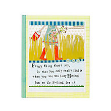 Buy Really Good Soul Joy Notebook Online at johnlewis.com