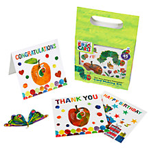 Buy Hungry Caterpillar Card Making Kit Online at johnlewis.com