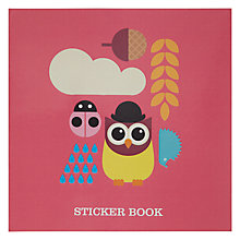 Buy Give A Hoot Sticker Book Online at johnlewis.com