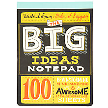 Buy Knock Knock Big Ideas Notepad, Multi Online at johnlewis.com