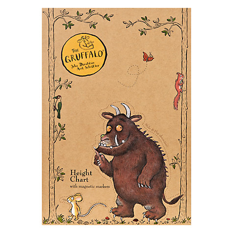 Buy Gruffalo Height Chart Online at johnlewis.com