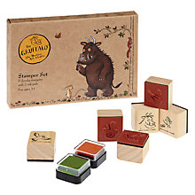 Buy Gruffalo Wooden Stampers Online at johnlewis.com