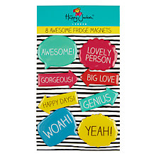 Buy Happy Jackson Magnets, Multi, Set Of 8 Online at johnlewis.com