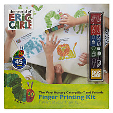 Buy Hungry Caterpillar Finger Printing Kit Online at johnlewis.com