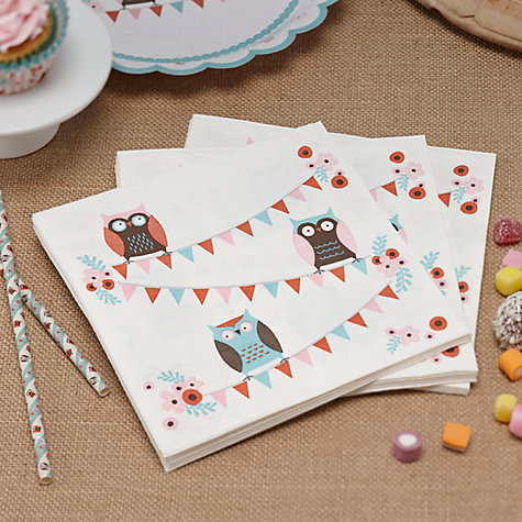 Buy Patchwork Owls Party Online at johnlewis.com