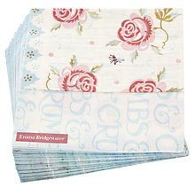 Buy Emma Bridgewater Rose And Bee Napkin, Multi, Pack of 20 Online at johnlewis.com