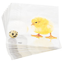 Buy Chicken Napkin, Multi, Pack of 20 Online at johnlewis.com