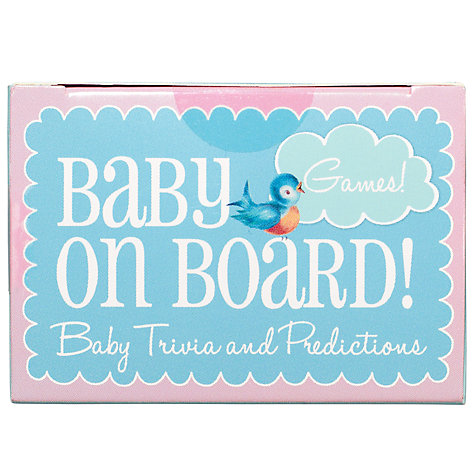 Buy Talking Tables Baby On Board Trivia Box, Multi Online at johnlewis.com