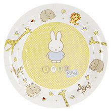 Buy Miffy Plates, Multi, Pack Of 8 Online at johnlewis.com
