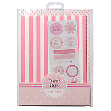 Buy Talking Tables Pink 'N' Mix Treat Bags, Pink, Pack Of 12 Online at johnlewis.com