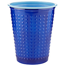 Buy Duni Plastic Cups, Blue, Pack Of 40 Online at johnlewis.com