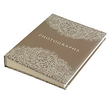 "Buy Art File Scroll Photo Album, Grey, Large, 6 x 4"" Online at johnlewis.com"