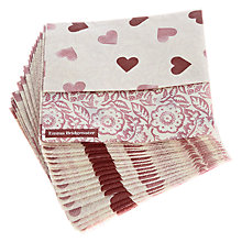 Buy Emma Bridgewater Heart/Roses Cocktail Napkins, Pack Of 20 Online at johnlewis.com