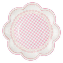 Buy Talking Tables Pink 'N' Mix Plate, Pink, Pack Of 8 Online at johnlewis.com