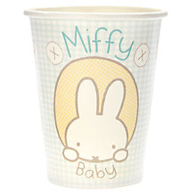 Buy Miffy Cups, Multi, Pack Of 8 Online at johnlewis.com
