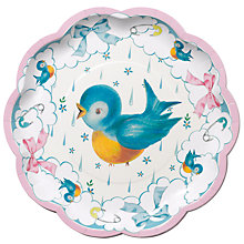Buy Talking Tables Baby On Board Plates, Multi, Pack Of  8 Online at johnlewis.com