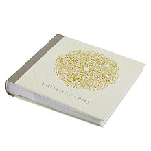 "Buy Art File Scroll Photo Album, Yellow, Large, 6 x 4"" Online at johnlewis.com"