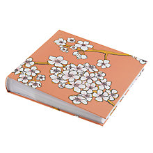 "Buy Art File Blossom Photo Album, Peach, 6 x 4"" Online at johnlewis.com"