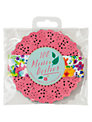 Talking Tables Floral Fiesta Mini Doilies, Multi, Pack Of 100