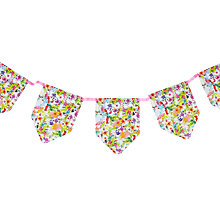 Buy Talking Tables Floral Fiesta Bunting, Multi Online at johnlewis.com