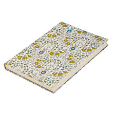 Buy John Lewis Daisychain Notebook, A5, Cream Online at johnlewis.com