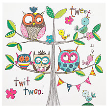 Buy Rachel Ellen Tweet Owl Notecards, Pack of 10 Online at johnlewis.com