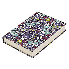 Buy John Lewis Daisy Notebook, A6, Purple Online at johnlewis.com