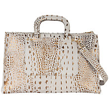 Buy Ted Baker Crociss Large Tote Bag, Grey Online at johnlewis.com