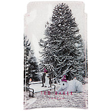 Buy Ted Baker Aroon Phone Case, Snow Print Online at johnlewis.com