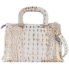 Buy Ted Baker Crociss Small Tote Bag, Grey Online at johnlewis.com