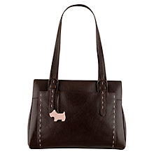 Buy Radley Barnsley Leather Medium Zipped Tote Handbag Online at johnlewis.com