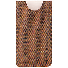 Buy Ted Baker Orli Weave Phone Holder Online at johnlewis.com